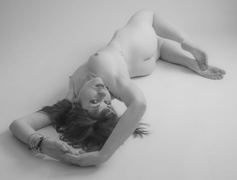 twisted Artistic Nude Photo by Photographer Allan Taylor