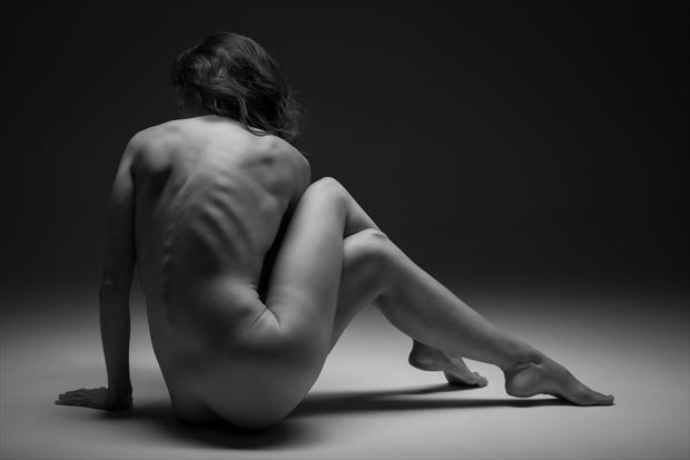 twisted artistic nude photo by photographer eric upside brown