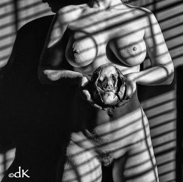 two faced artistic nude photo by photographer dennis keim