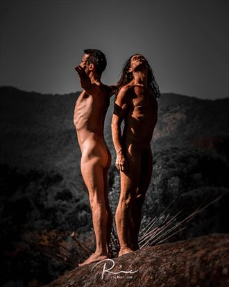 two friends artistic nude photo by photographer ric4men