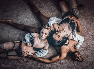 two s company three s an entourage aftermath lingerie photo by model matriix