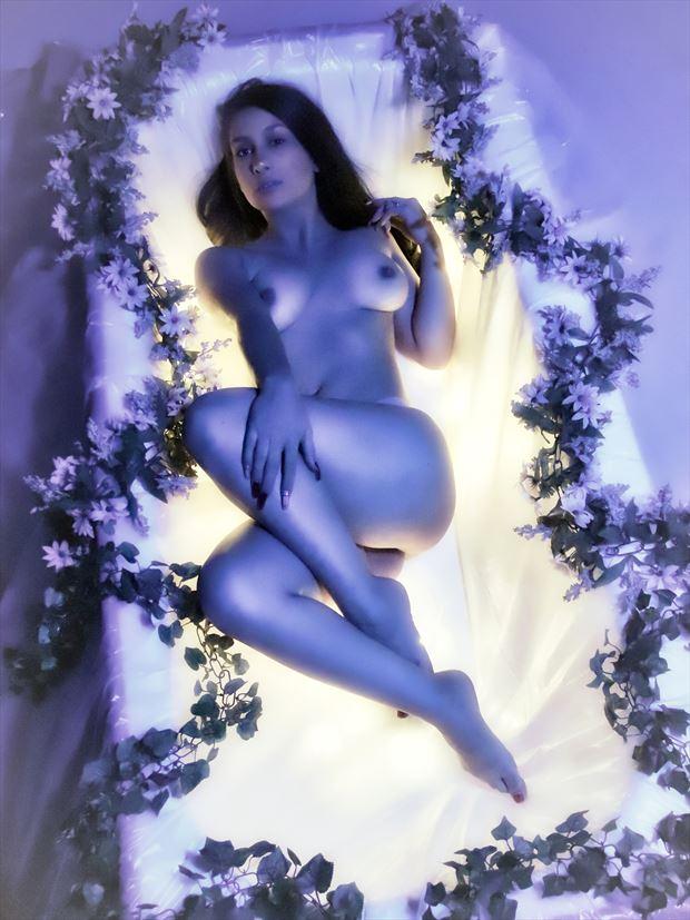 tyrha blue artistic nude photo by photographer dan stone photo