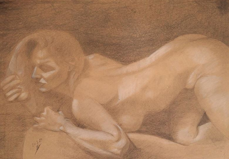u want me artistic nude artwork by artist alexandros makris