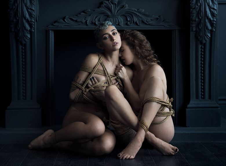unbound artistic nude photo by photographer ellis