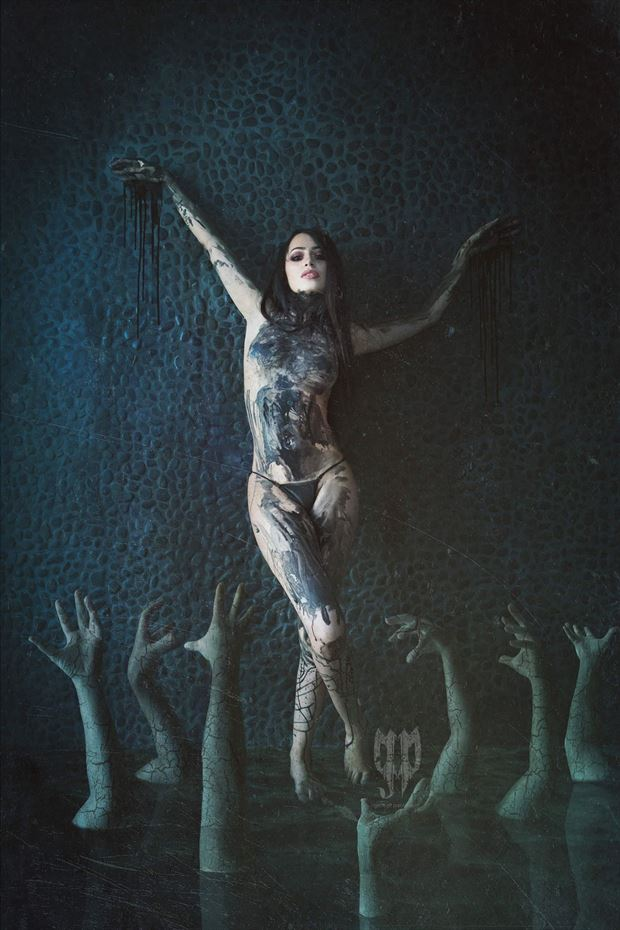 underworld series 2 surreal artwork by photographer pangeo