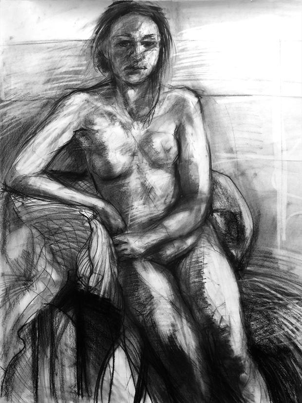 untitled 2014 figure study artwork by artist figureartist