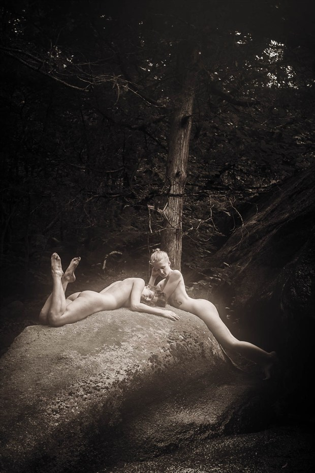 upon this rock artistic nude photo by photographer photowyse