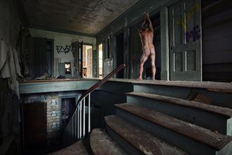 upstairs artistic nude photo by photographer josephbowman