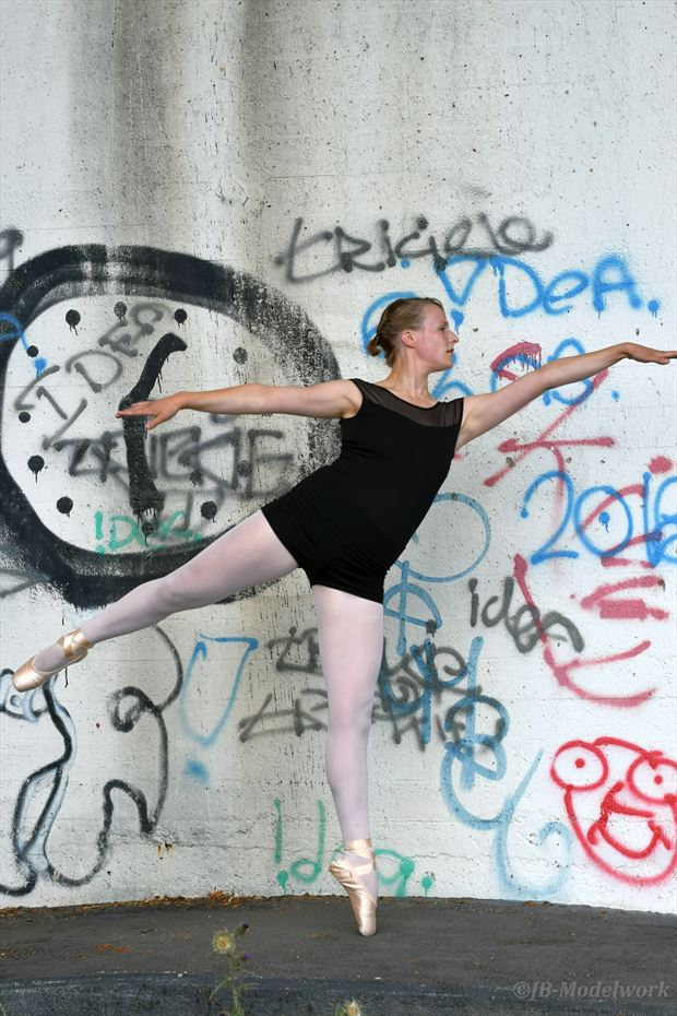 urbex ballerina project abstract photo by photographer jb modelwork