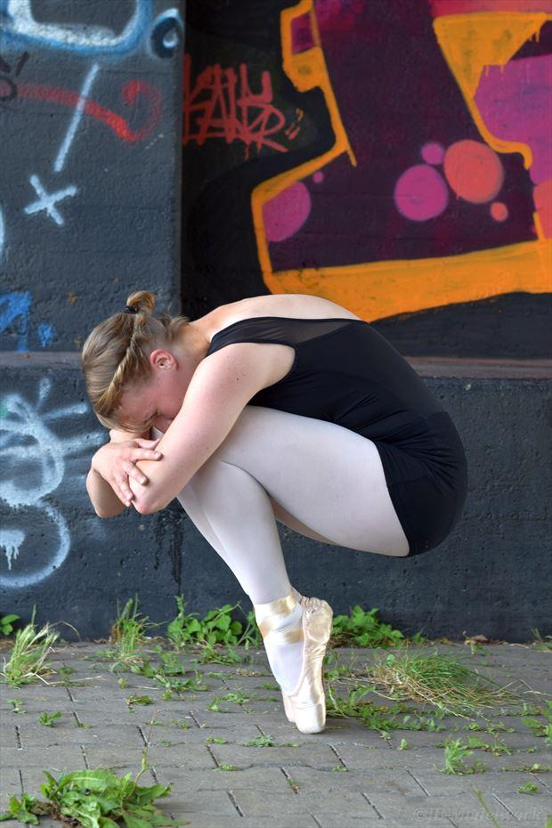 urbex ballerina project figure study photo by photographer jb modelwork