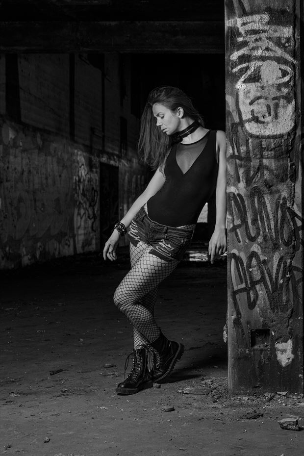 urbex glamour photo by photographer claude frenette