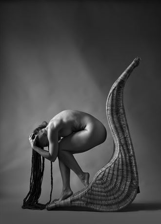 valentina artistic nude artwork by photographer richard byrne