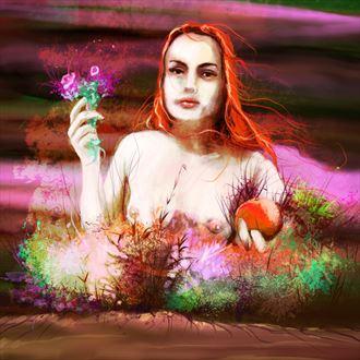 venus 3 chiaroscuro artwork by artist nick kozis