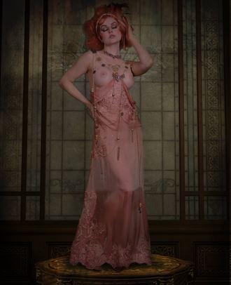 veronica lavery expressive portrait photo by photographer vincent of dreamhouse