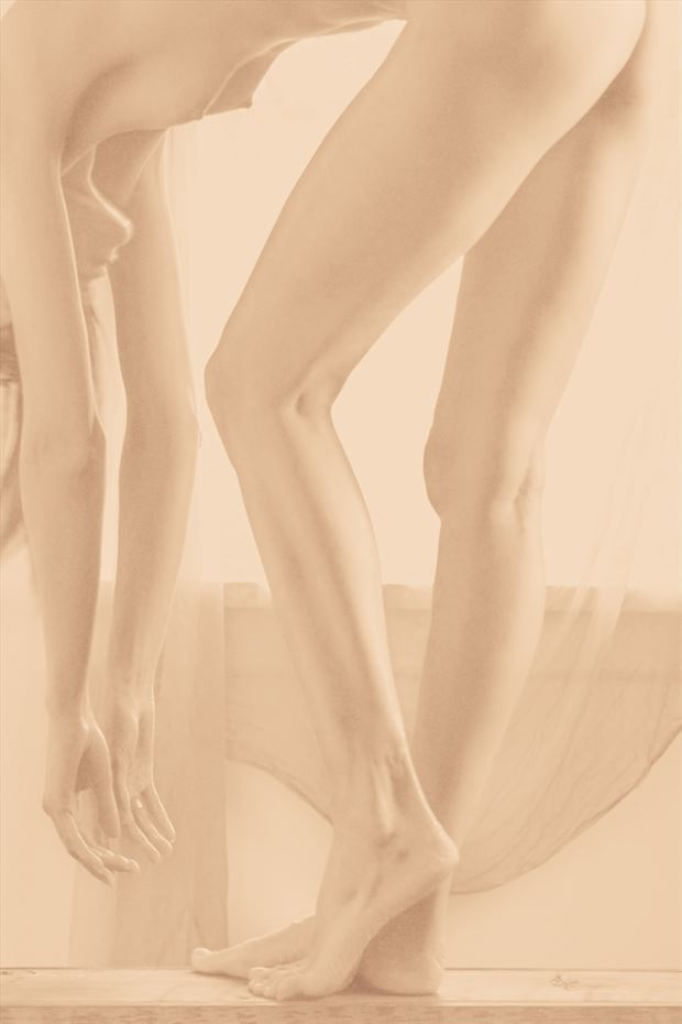 vertical desert w kate snig artistic nude photo by photographer robin burch