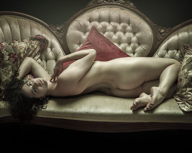 vintage daisy 1 artistic nude photo by model jefflamarche