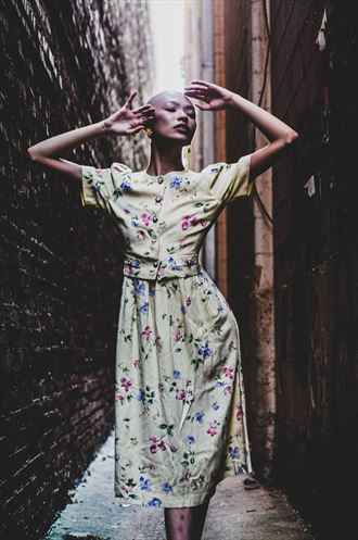 vintage style alternative model photo by photographer goadken
