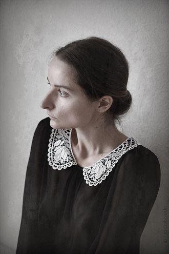 vintage style retro photo by model lileya