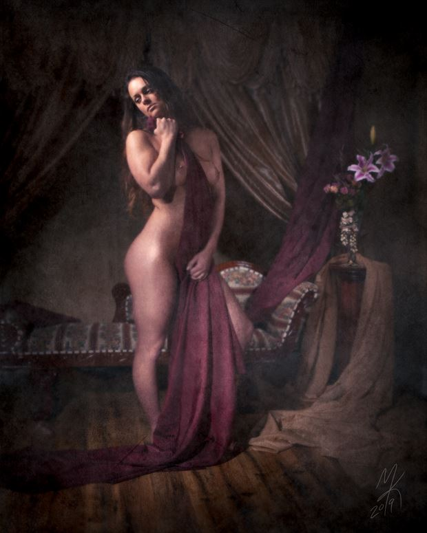 vintage style sensual photo by photographer end2endphoto
