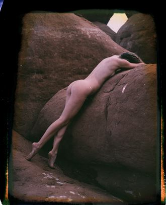 vivian fp100c expired 2008 reclaimed negative artistic nude artwork by photographer soulcraft