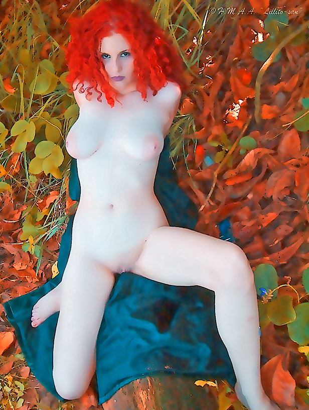 vivid living leafs artistic nude photo by photographer lillito san_ep