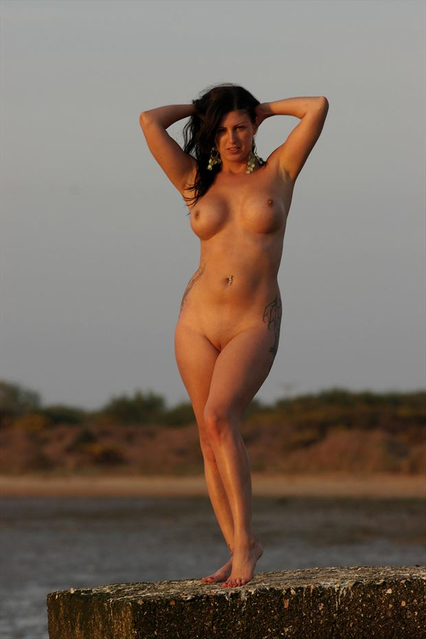 voluptuous artistic nude photo by photographer russb