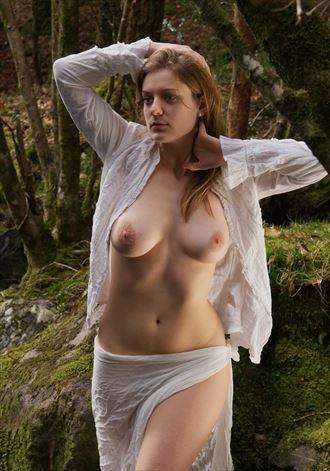 walk in the woods artistic nude photo by photographer celtic glamour