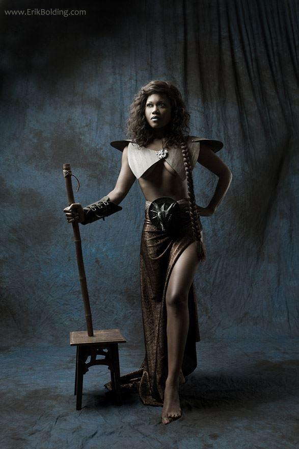warrior lady fantasy photo by photographer erik bolding