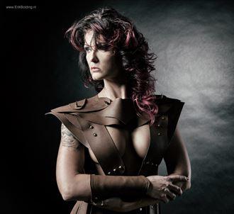 warrior lady in leather fantasy photo by photographer erik bolding