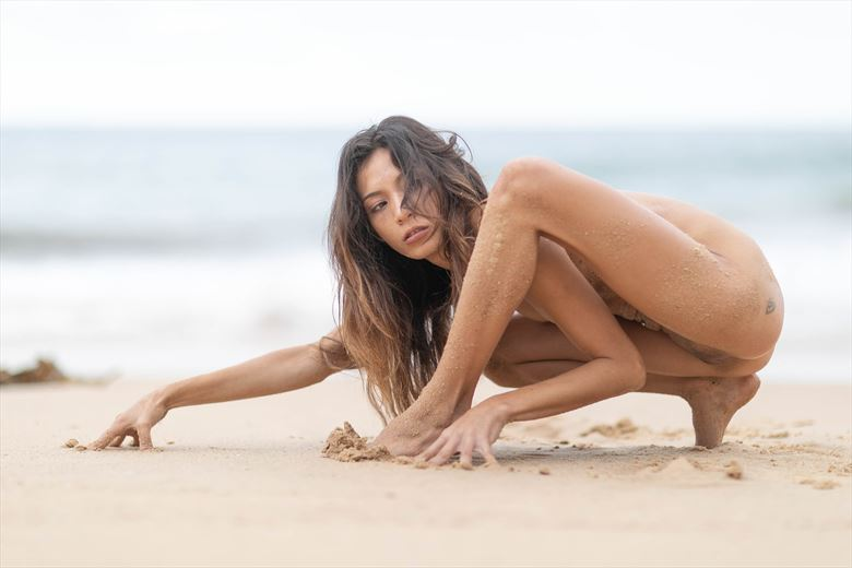 washed up creature artistic nude artwork by model lalunagoddess