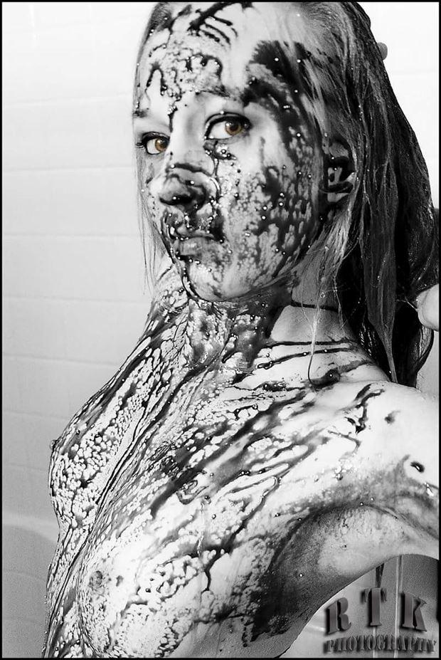 washing away the impurities artistic nude artwork by model missshawnak