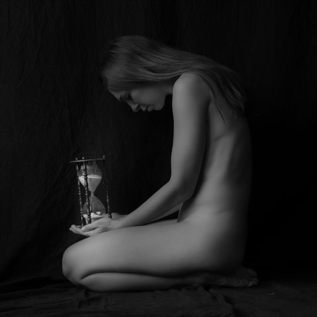 watching time slip by artistic nude photo by photographer ajpics