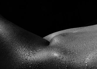 water droplets artistic nude photo by photographer mike 256