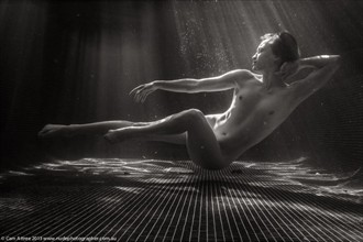 water light Artistic Nude Photo by Model Stephanie Anne