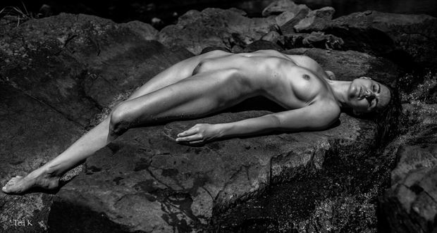 water nymph nature photo by artist artfitnessmodel