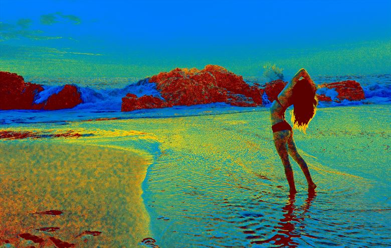 water woman bikini photo by photographer kean creative