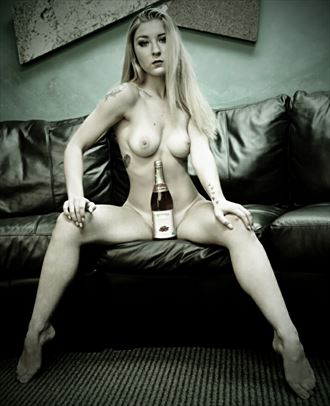 watermelon wine artistic nude photo by photographer druisms76