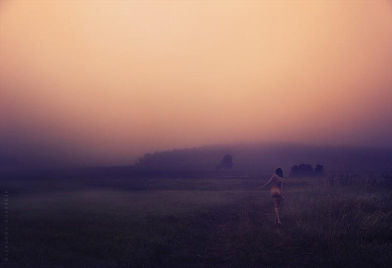 way the fog Artistic Nude Artwork by Photographer Alexandr  Kostygin
