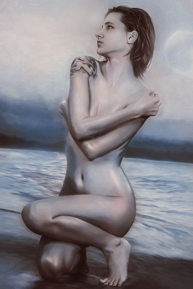 we are here artistic nude artwork by artist todd f jerde