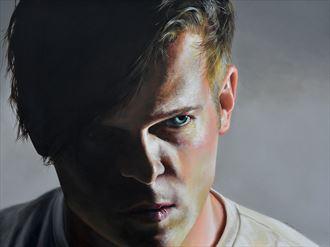 we convince by our presence portrait artwork by artist dan simoneau artist