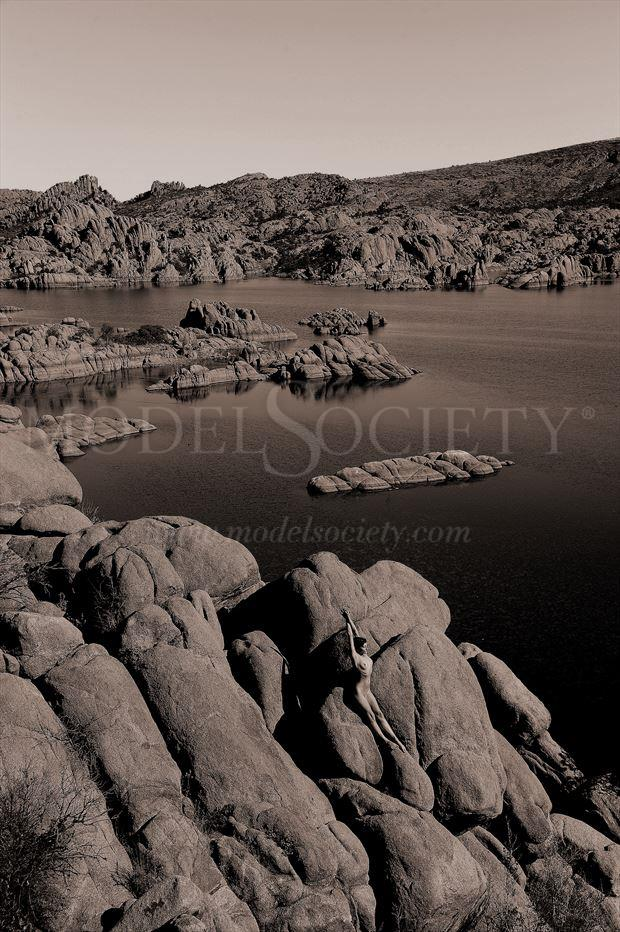 west central az artistic nude photo by photographer ray valentine