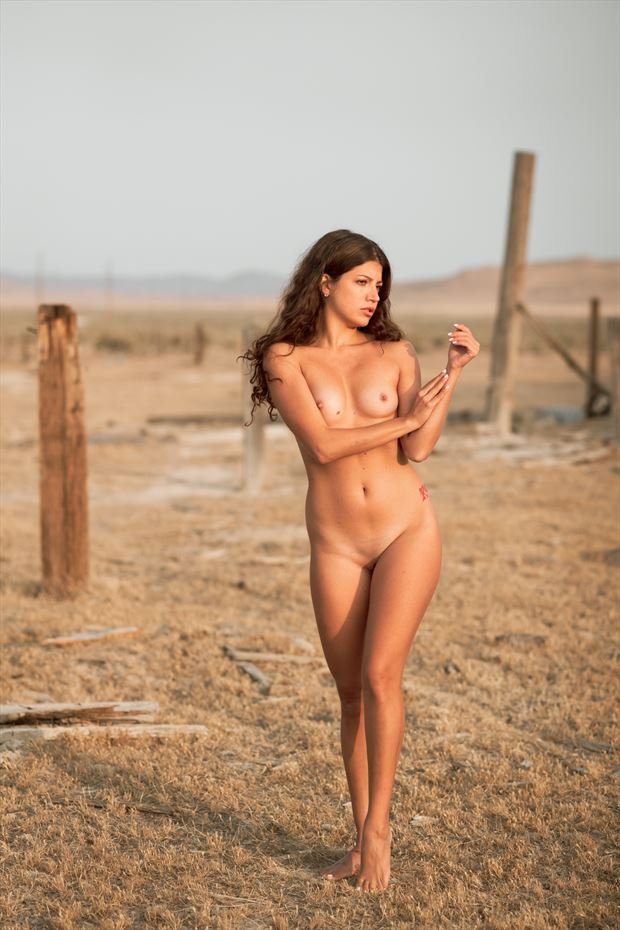 west desert artistic nude photo by model morganagreen