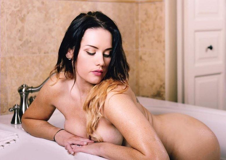 westin hotel photoshoot artistic nude photo by model amandaelle