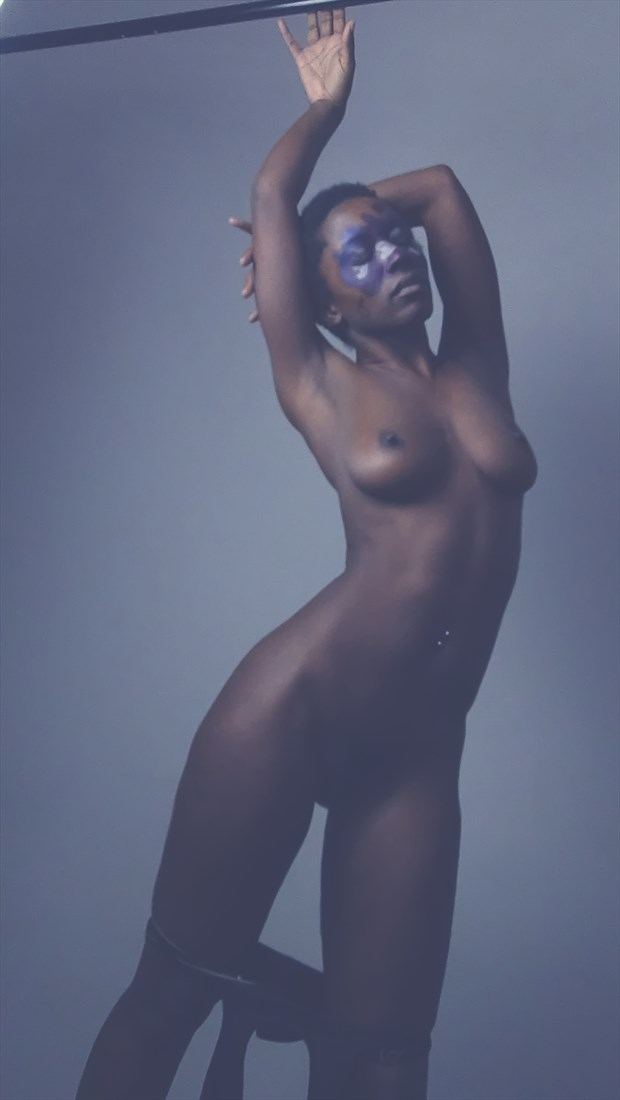 wet Artistic Nude Photo by Model Britney Siren
