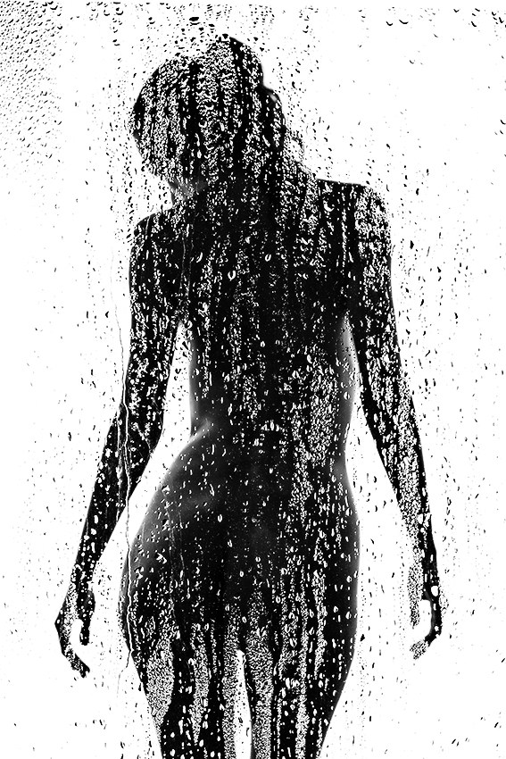 wet Artistic Nude Photo by Photographer 1102
