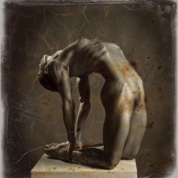 wet plate artistic nude photo by photographer maxoperandi
