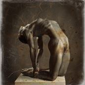wet plate artistic nude photo by photographer maxoperandi