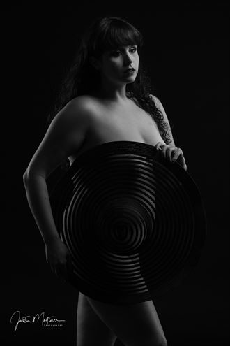 what a hat artistic nude artwork by photographer justin mortimer