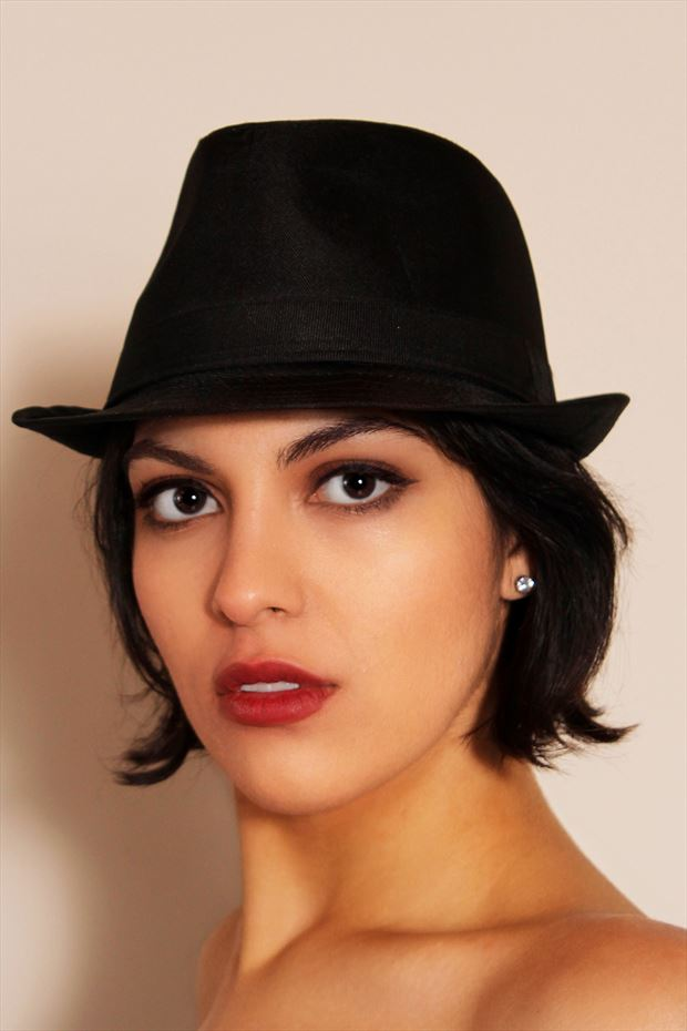 what about my hat glamour photo by photographer glamour by richmond