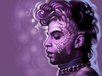when doves cry digital artwork by artist david bollt